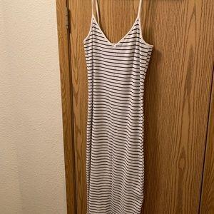Mid length body con dress